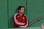 27 October 2007: Chivas head coach Preki watches pregame warmups from a tunnel entrance. The Kansas City Wizards defeated Club Deportivo Chivas USA 1-0 in the first leg of their Major League Soccer Western Conference Semifinal playoff series at Arrowhead Stadium in Kansas City, Missouri.