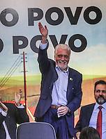 SAO PAULO, SP, 20 FEVEREIRO 2013 -  10 ANOS DO PARTIDO DOS TRABALHADORES GOVERNO FEDERAL NO PODER -  O governador da Bahia Jaques Wagner durante a festa do Partido dos Trabalhadores (PT) para celebrar 33 anos do partido e dez anos no comando do Governo Federal, no Holiday Inn Parque Anhembi, na zona norte de São Paulo, nesta quarta-feira, 20. FOTO: WILLIAM VOLCOV / BRAZIL PHOTO PRESS