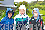 Conor O'Connor, Jack Daly and Michael Daly braving the weather at the Caherciveen races on Sunday   Copyright Kerry's Eye 2008