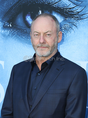 """LOS ANGELES, CA July 12- Liam Cunningham,  At Premiere Of HBO's """"Game Of Thrones"""" Season 7 at The Walt Disney Concert Hall, California on July 12, 2017. Credit: Faye Sadou/MediaPunch"""