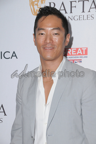 15 September  2017 - Beverly Hills, California - Leonardo Nam. 2017 BAFTA Los Angeles BBC America TV Tea Party  held at The Beverly Hilton Hotel in Beverly Hills. Photo Credit: Birdie Thompson/AdMedia