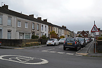 2019 12 31 police investigation in a house in Llanelli, Wales, UK