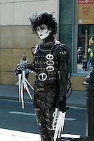 Spanien, Barcelona, Straßenkünstler auf der Rambla