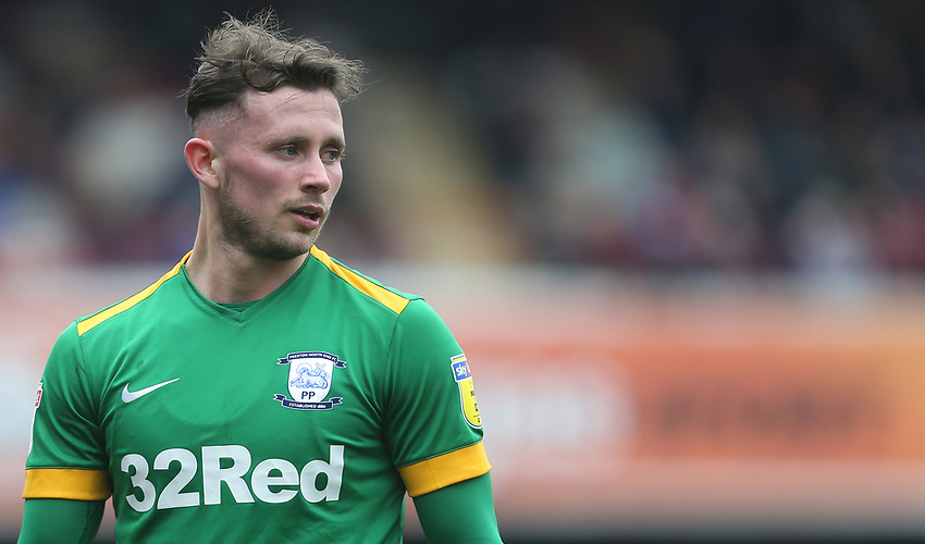 Preston North End's Alan Browne<br /> <br /> Photographer Rob Newell/CameraSport<br /> <br /> The EFL Sky Bet Championship - Brentford v Preston North End - Sunday 5th May 2019 - Griffin Park - Brentford<br /> <br /> World Copyright © 2019 CameraSport. All rights reserved. 43 Linden Ave. Countesthorpe. Leicester. England. LE8 5PG - Tel: +44 (0) 116 277 4147 - admin@camerasport.com - www.camerasport.com
