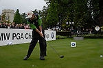 Markus Brier tees off on the opening hole during the final round of the BMW PGA Championship at Wentworth Club, Surrey, England 27th May 2007 (Photo by Eoin Clarke/NEWSFILE)