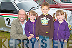VINTAGE FUN: Having a great time at the Camp Vintage Rally on Sunday l-r: Steve and Aoife Gasgoigne, Cian Griffin and Niamh Gasgoigne.