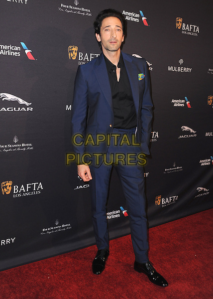 BEVERLY HILLS, CA - JANUARY 10:  Adrien Brody at the BAFTA Los Angeles 2015 Awards Season Tea Party at The Four Seasons of Beverly Hills on January 10, 2015 in Beverly Hills, California. <br /> CAP/MPI/SKPG<br /> &copy;SKPG/MediaPunch/Capital Pictures