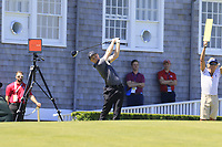 Harry Ellis (AM)(ENG) tees off the 14th tee during Thursday's Round 1 of the 118th U.S. Open Championship 2018, held at Shinnecock Hills Club, Southampton, New Jersey, USA. 14th June 2018.<br /> Picture: Eoin Clarke | Golffile<br /> <br /> <br /> All photos usage must carry mandatory copyright credit (&copy; Golffile | Eoin Clarke)