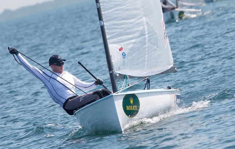 USA 1140, Bryan Boyd, Finn, USA winner of Race
