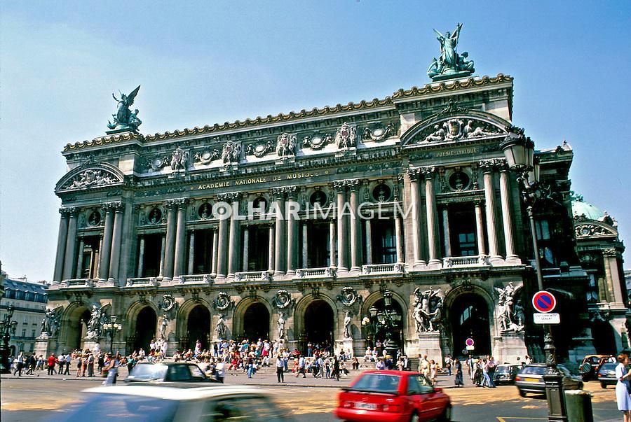 Teatro da Opera em Paris, França. 1993. Foto de Dudu Cavalcanti.