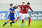 Moreira Diego Eli (l) of Eastern SC competes for the ball with Jose Paulo Bezerra Maciel Junior of Guangzhou Evergrande FC during their AFC Champions League 2017 Match Day 1 Group G match between Guangzhou Evergrande FC (CHN) and Eastern SC (HKG) at the Tianhe Stadium on 22 February 2017 in Guangzhou, China. Photo by Victor Fraile / Power Sport Images
