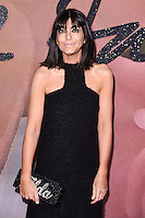 Claudia Winkleman at the Fashion Awards 2016 at the Royal Albert Hall, London. December 5, 2016<br /> Picture: Steve Vas/Featureflash/SilverHub 0208 004 5359/ 07711 972644 Editors@silverhubmedia.com