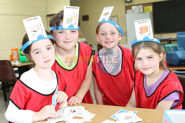 Caoimhe O'Dwyer, Ciara Brodigan, Meabh McCabe and Nicole Tully at the Greenhills Summer Camp...(Photo credit should read Jenny Matthews www.newsfile.ie)....This Picture has been sent you under the conditions enclosed by:.Newsfile Ltd..The Studio,.Millmount Abbey,.Drogheda,.Co Meath..Ireland..Tel: +353(0)41-9871240.Fax: +353(0)41-9871260.GSM: +353(0)86-2500958.email: pictures@newsfile.ie.www.newsfile.ie.