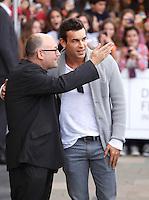 Actor Mario Casas arrives to Maria Cristina hotel, posses and signs autographs during the 61 San Sebastian Film Festival, in San Sebastian, Spain. September 21, 2013. (ALTERPHOTOS/Victor Blanco) /NortePhoto