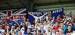 25.08.2019 St Mirren v Rangers: Rangers fans