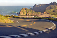 Highway One on the California coast near Elk.