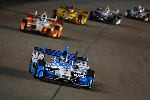 1-2 April, 2016, Avondale, Arizona USA<br /> 27 Marco Andretti leads 22 Simon Pagenaud<br /> ©2016, Phillip Abbott<br /> LAT Photo USA