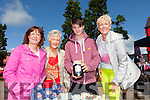 Eileen Harnett, Nora Dennisson, Ian O'Connor and Grainne Dennisson pictured last Friday at the farmer's market held in Abbeyfeale for this years Gather By The Feale Summer Festival.