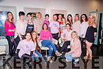 The staff in Sean Taffe hair studio held a Pink day for the Irish Cancer Society on Saturday
