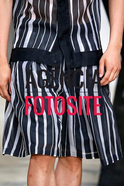 Paris, Franca &ndash; 06/2014 - Desfile de Songzio durante a Semana de moda masculina de Paris - Verao 2015. <br /> Foto: FOTOSITE