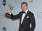 """DAMIAN LEWIS (Best Actor) - 64TH PRIME TIME EMMY AWARDS.Nokia Theatre Live, Los Angelees_23/09/2012.Mandatory Credit Photo: ©Dias/NEWSPIX INTERNATIONAL..**ALL FEES PAYABLE TO: """"NEWSPIX INTERNATIONAL""""**..IMMEDIATE CONFIRMATION OF USAGE REQUIRED:.Newspix International, 31 Chinnery Hill, Bishop's Stortford, ENGLAND CM23 3PS.Tel:+441279 324672  ; Fax: +441279656877.Mobile:  07775681153.e-mail: info@newspixinternational.co.uk"""