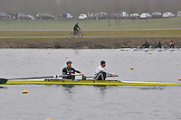 045 Staines SEN.2‐..Marlow Regatta Committee Thames Valley Trial Head. 1900m at Dorney Lake/Eton College Rowing Centre, Dorney, Buckinghamshire. Sunday 29 January 2012. Run over three divisions.