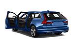 Car images close up view of a 2018 Volvo V90 R-Design AWD T6  5 Door Wagon doors