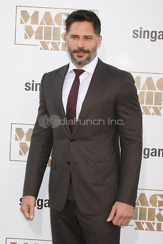 "LOS ANGELES, CA - JUNE 25: Joe Manganiello  at the ""Magic Mike XXL"" Premiere at the TCL Chinese Theater on June 25, 2015 in Los Angeles, California. Credit: David Edwards/MediaPunch"