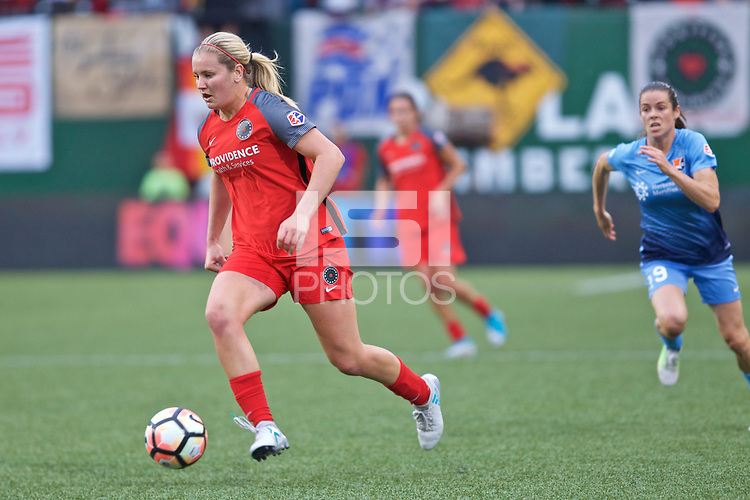 Portland, OR - Saturday June 17, 2017: Lindsey Horan during a regular season National Women's Soccer League (NWSL) match between the Portland Thorns FC and Sky Blue FC at Providence Park.
