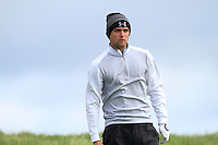 Daniel Kay (SCO) on the 14th tee during Round 3 of The Irish Amateur Open Championship in The Royal Dublin Golf Club on Saturday 10th May 2014.<br /> Picture:  Thos Caffrey / www.golffile.ie