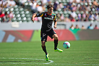 CARSON, California - October 6, 2013: The LA Galaxy  defeated Chivas USA 5-0 during a Major League Soccer (MLS) game at StubHub Center stadium.