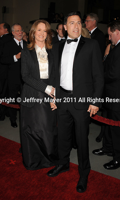 HOLLYWOOD, CA - January 29: David O. Russell - Director and Melissa Leo arrive at the 63rd Annual DGA Awards held at the Grand Ballroom at Hollywood & Highland Center on January 29, 2011 in Hollywood, California.