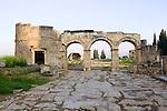 Hierapolis Arches Temple Of Apollo