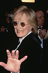 "Glenn Close pictured at the opening night of ""The Producers"" at St. James Theatre in New York City on April 19, 2001."