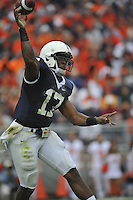 12 September 2009:  Penn State QB Daryll Clark threw for 240 yards and 3 TDs.  The Penn State Nittany Lions defeated the Syracuse Orangemen 28-7 at Beaver Stadium in State College, PA..