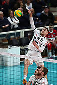 20th March 2018, PalaTrento, Trento, Italy; CEV Volleyball Champions League, playoffs, 1st leg; Trentino Diatec versus Chaumont VB 52 Haute Marne; 12 Teppan ReneeEST