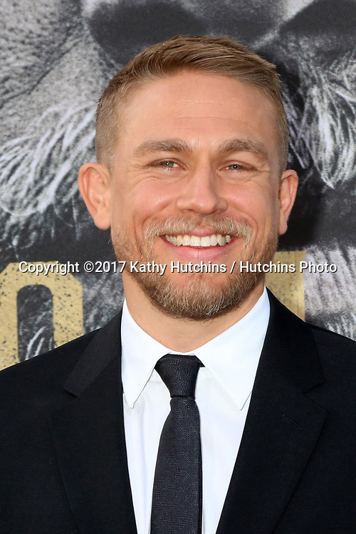 "LOS ANGELES - MAY 8:  Charlie Hunnam at the ""King Arthur Legend of the Sword"" World Premiere on the TCL Chinese Theater IMAX on May 8, 2017 in Los Angeles, CA"