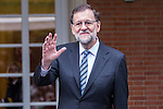 Spanish Prime Minister Mariano Rajoy during the prensentation of Rajoy's New Government at Moncloa Palace in  Madrid, Spain. November 04, 2016. (ALTERPHOTOS/Rodrigo Jimenez)