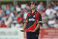 James Franklin of Essex - Essex Eagles vs Sussex Sharks - Friends Life T20 Cricket at the Ford County Ground, Chelmsford, Essex - 28/06/12 - MANDATORY CREDIT: Gavin Ellis/TGSPHOTO - Self billing applies where appropriate - 0845 094 6026 - contact@tgsphoto.co.uk - NO UNPAID USE.