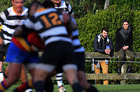Action from the Jubilee Cup Wellington premier club rugby match between Tawa and Oriental Rongotai at Lyndhurst Park in Wellington, New Zealand on Saturday, 22 June 2019. Photo: Dave Lintott / lintottphoto.co.nz