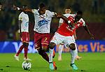 Deportes Tolima venció 1-2 a Independiente Santa Fe.  Cuartos de final ida Liga Águila II-2018.