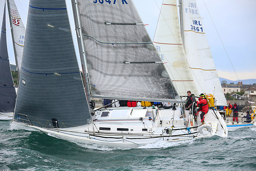 Wave Regatta in Howth is on the schedule for former ISORA champion J109 Mojito Photo: Afloat