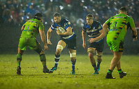 Bath Rugby's Elliott Stooke in action during todays match<br /> <br /> Photographer Bob Bradford/CameraSport<br /> <br /> Anglo-Welsh Cup Semi Final - Bath Rugby v  Northampton Saints - Friday 9th March 2018 - The Recreation Ground - Bath<br /> <br /> World Copyright &copy; 2018 CameraSport. All rights reserved. 43 Linden Ave. Countesthorpe. Leicester. England. LE8 5PG - Tel: +44 (0) 116 277 4147 - admin@camerasport.com - www.camerasport.com
