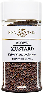 30609 Brown Mustard Seed, Small Jar 2.25 oz, India Tree Storefront