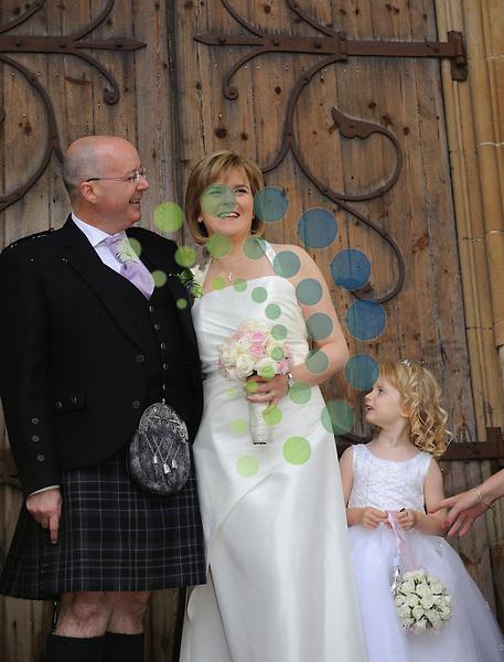 deputy first minister nicola sturgeon gets married
