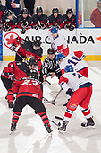 Bonnyville, AB - Dec 14 2018 - Game 10 - Czech Republic vs. Canada East during the 2018 World Junior A Challenge at the R.J. Lalonde Arena in Bonnyville, Alberta, Canada (Photo: Matthew Murnaghan/Hockey Canada)