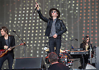 Beck perform during British Summertime Music Festival at Hyde Park, London, England on 18 June 2015. Photo by Andy Rowland.
