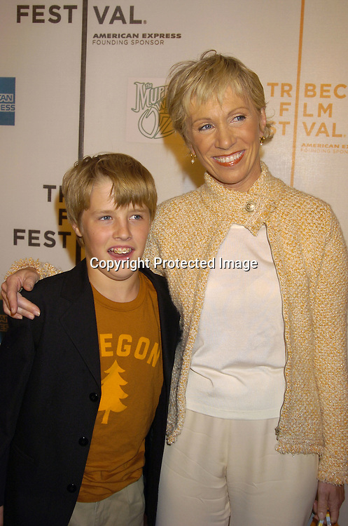 "Tommy and Barbara Corcoran ..at the Tribeca Family Festival World Premiere of ""The Muppets'  Wizard of Oz"" on April 27, 2005 at The Tribeca ..Performing Arts Center. ..Photo by Robin Platzer, Twin Images......"