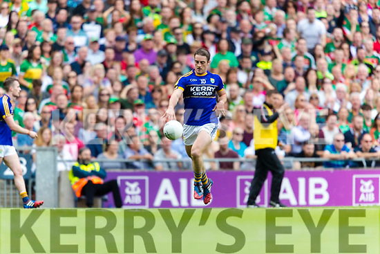 Stephen O'Brien Kerry in action against  Mayo in the All Ireland Semi Final Replay in Croke Park on Saturday.