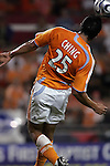 10 November 2007:  Brian Ching (25) of the Houston Dynamo.  The MLS Houston Dynamo defeated the Kansas City Wizards 2-0 at Robertson Stadium, Houston, Texas to capture the 2007 MLS Western Conference title and to advance to the MLS Cup championship final on Saturday, November 18th.